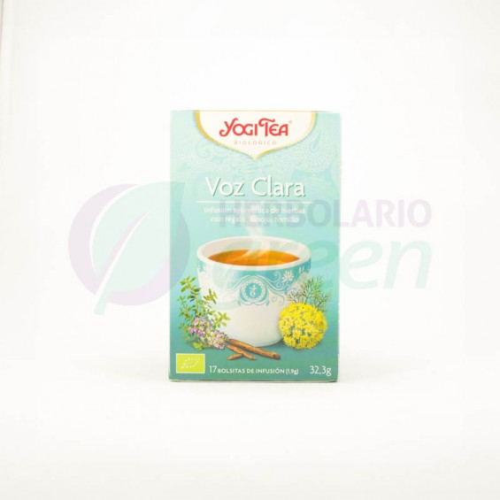 Infusion Voz Clara 17 filtros Yogi Tea
