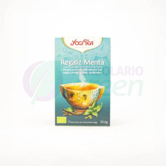 Infusion Regaliz Menta 17 filtros Yogi Tea
