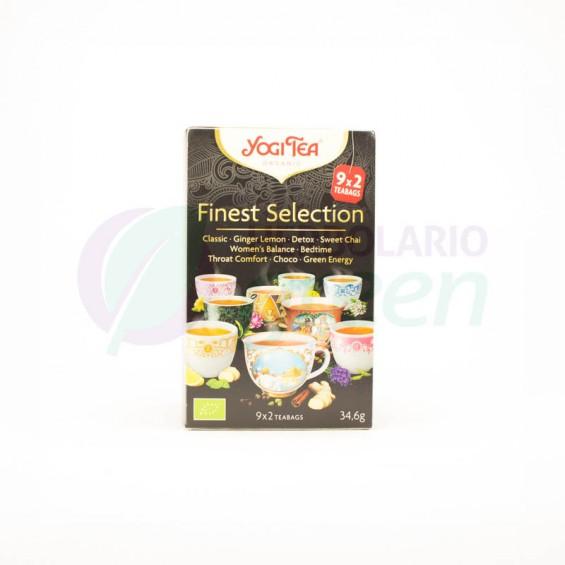 Infusion Finest Selection 18 filtros Yogi Tea