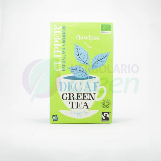 Infusion Decaf Green Tea 20 filtros Clipper
