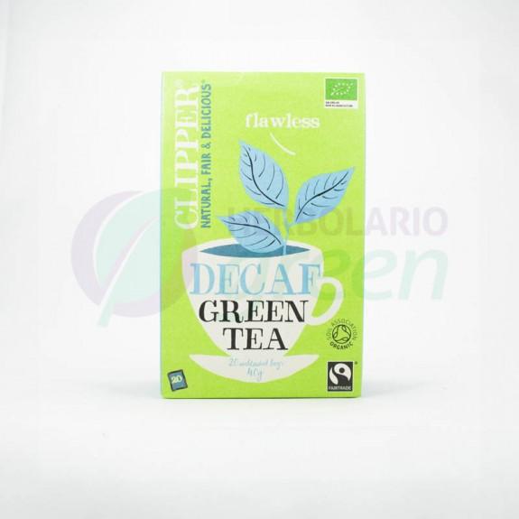 Infusion Decaf Green Tea 20 filtros Clipper