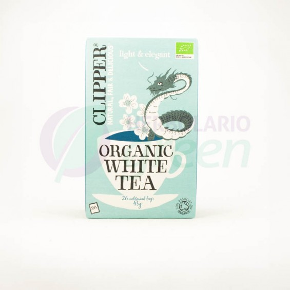 Infusion Organic White Tea 26 filtros Clipper