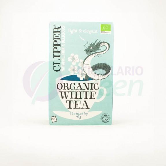Infusion Organic White Tea 26 filtros Clipper