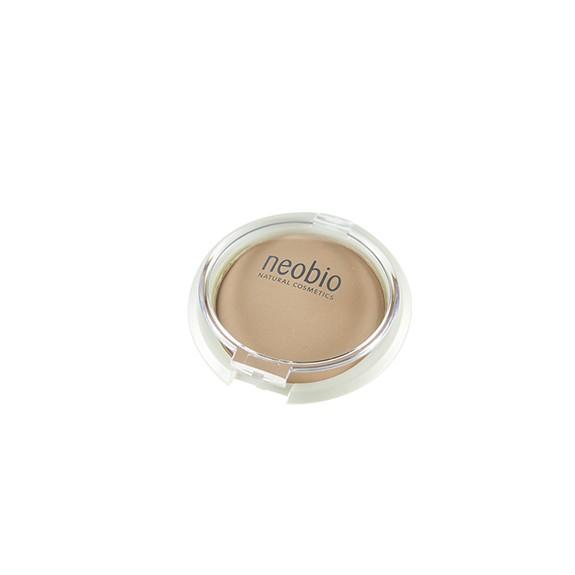 Maquillaje compacto NeoBio 02 beige