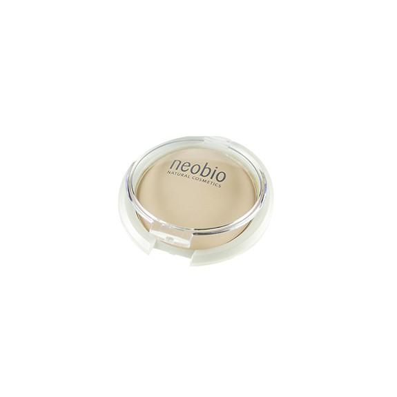 Maquillaje compacto NeoBio 01 light beige