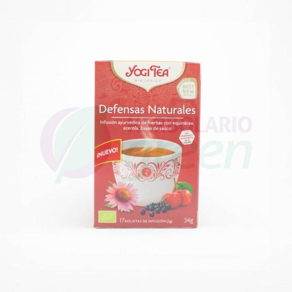 Infusion Defensas Naturales 17 filtros Yogi Tea