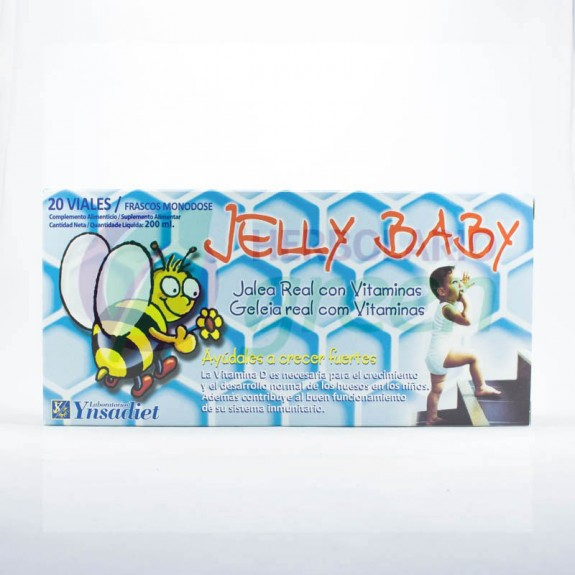 Jelly Baby 20 ampollas Ynsadiet