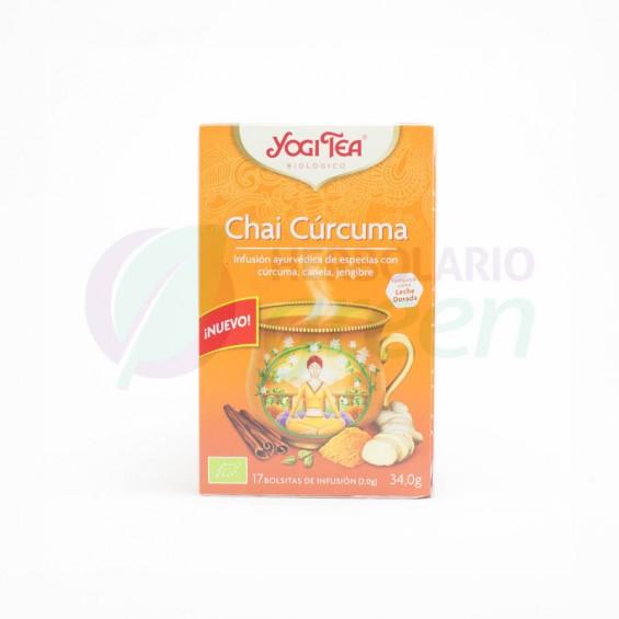 Infusion curcuma 17 filtros Yogi Tea