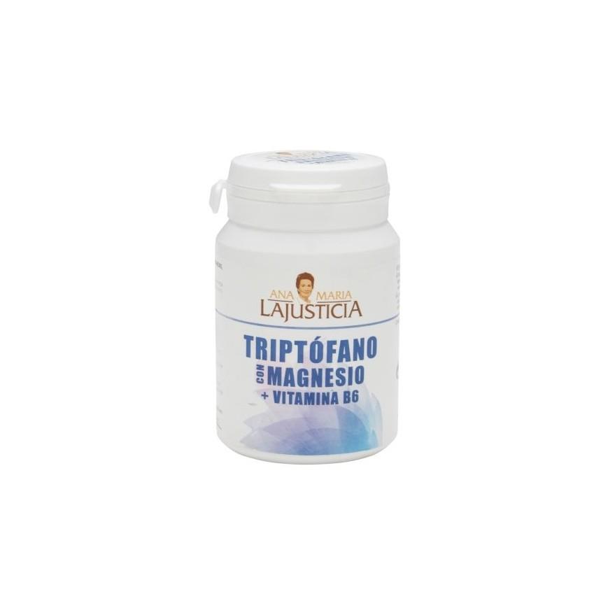 Triptofano y magnesio con vitamina C 60 comprimidos Ana Maria Lajusticia