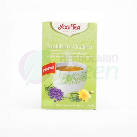 Equilibrio Alcalino 17 filtros Yogi Tea