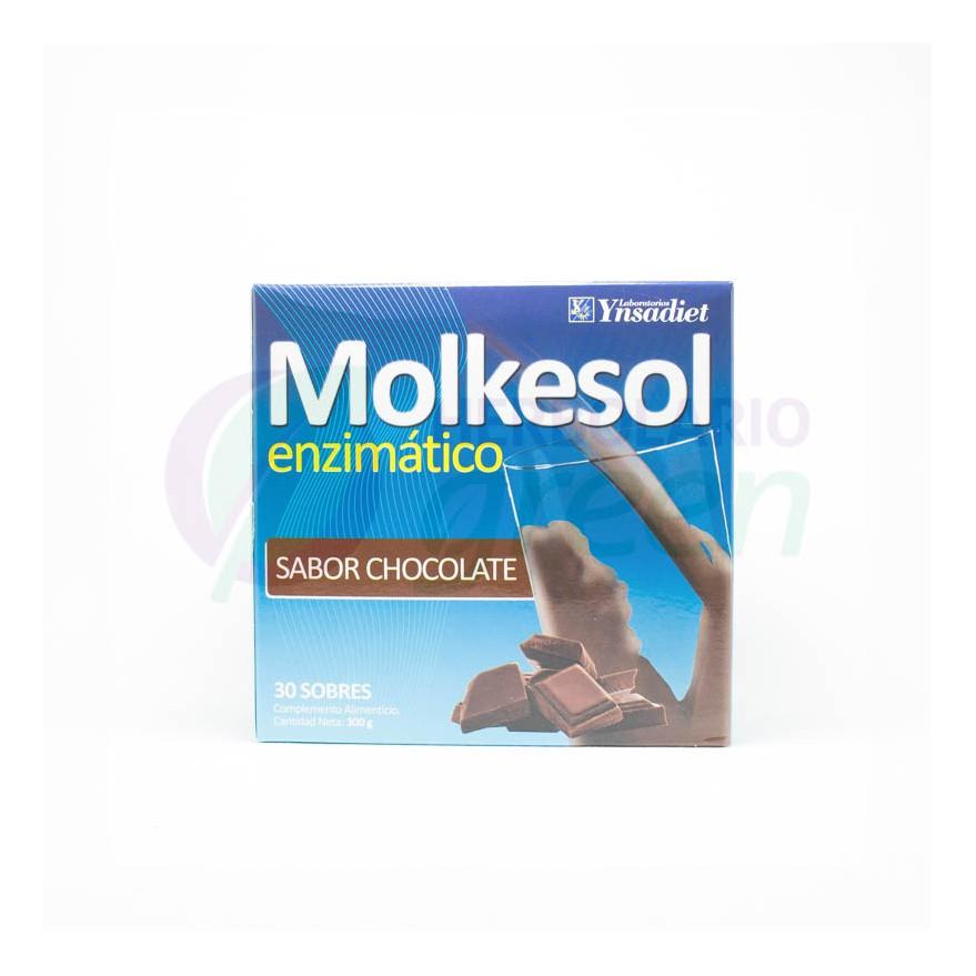 Molkesol Chocolate 30 Sobres con Estevia Ynsadiet