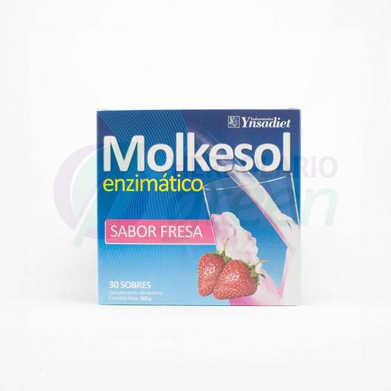 Molkesol Fresa 30 Sobres con Estevia Ynsadiet