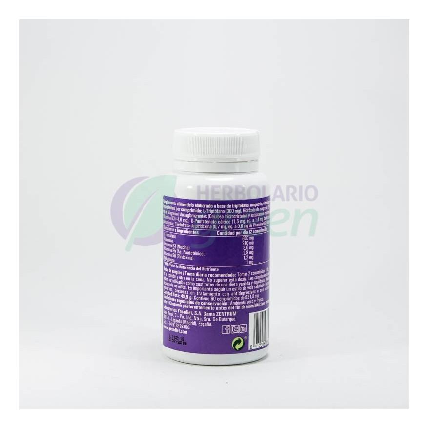 Triptofano ZENTRUM 60 comprimidos